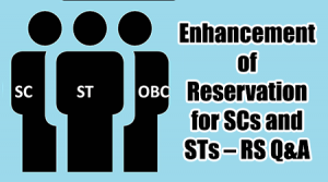 Reservation for SCs and STs