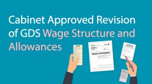 Cabinet Approved Revision of GDS