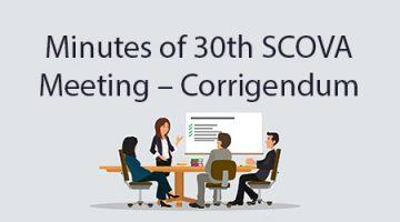30th SCOVA Meeting