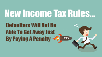 New Income Tax Rules