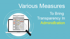 Transparency In Administration