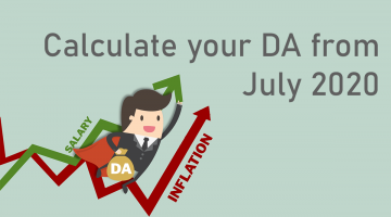 DA Calculator July 2020