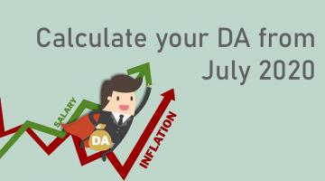 DA Calculator July 2020
